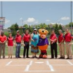 2015 Flying 40 - Isotopes Park with Orbit
