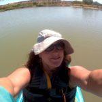 Kayaking on Cochiti Lake, NM
